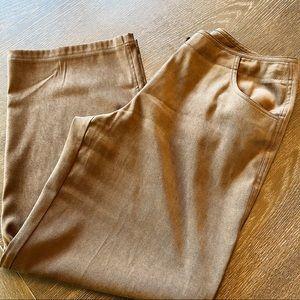 $$J. Jill Stretch Brown Wide Leg Slacks Vintage 12